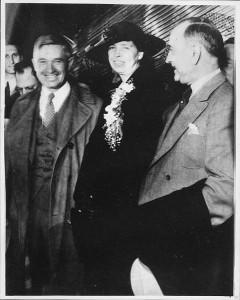 Will Rogers And Eleanor Roosevelt
