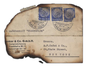 A Piece of Mail From The Hindenburg
